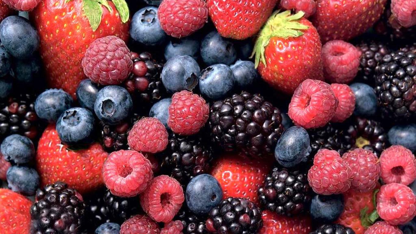 antocianinas puras no berries grasas